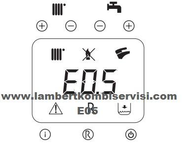 Lambert Kombi 05 Arıza Kodu ve Çözümü