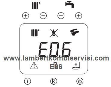 Lambert Kombi E06 Arıza Kodu ve Çözümü