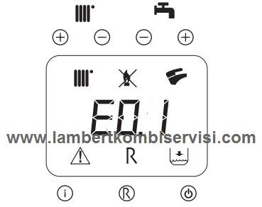 Lambert Kombi E01 Hatası ve Çözümü