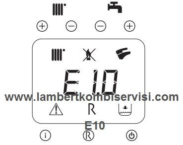 Lambert Kombi E10 Hata Kodu ve Çözümü