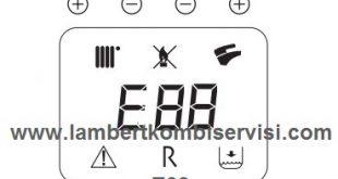 Lambert Kombi E88 Arıza Kodu ve Çözümü