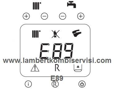 Lambert Kombi E89 Arıza Kodu ve Çözümü