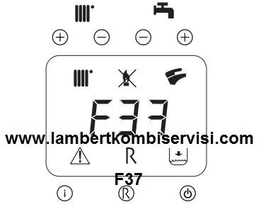 Lambert Kombi F37 Arıza Kodu ve Çözümü
